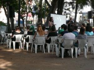Παρουσίαση για την πολυσυντροφικότητα στο 1ο Pride Κρήτης, 2015