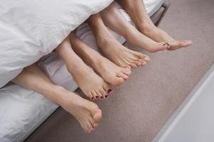 Feet small