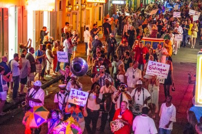 Swingers Pride Parade New Orleans